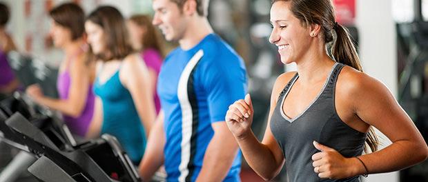 social treadmill running
