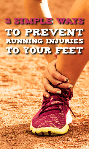 There's no feeling quite like hitting your stride during a good run -- and none worse than not being able to run because of injury. But by focusing on prevention and caring for your feet even while pounding them into the track, you can defuse risk factors before they sideline you.