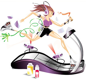 multitasking treadmill