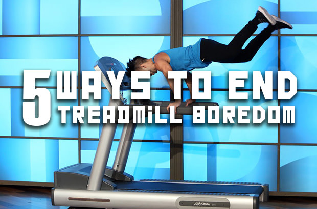 5 Ways To End Treadmill Boredom