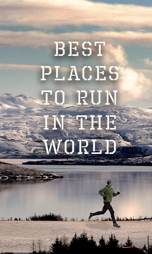Runners from around the globe have put together their top 26 places to run in the world. Check out where they are.