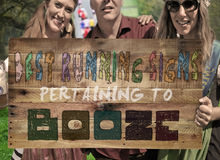 Best Running Signs Pertaining To Booze