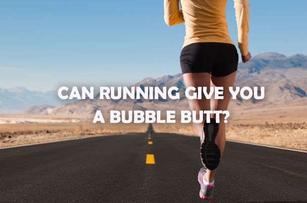 Can Running Give You a Bubble Butt
