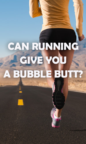 Running, whether sprinting, long distance or a combination, gets you fit in various ways. Some people, however, actually wind up with bigger butts despite running, a function of their genetic tendencies, the types of running they perform and their diets. Read on to find out why.