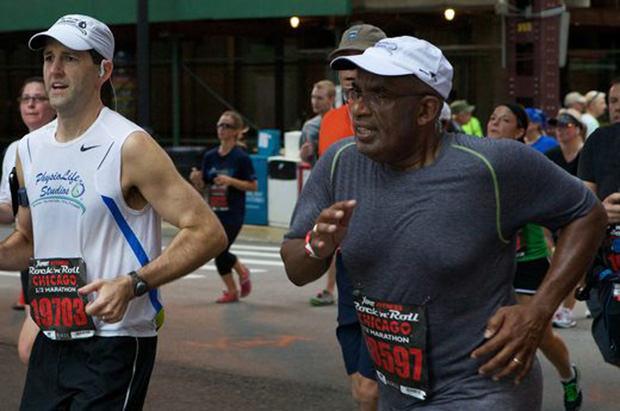 Celebrity Runner Al Roker