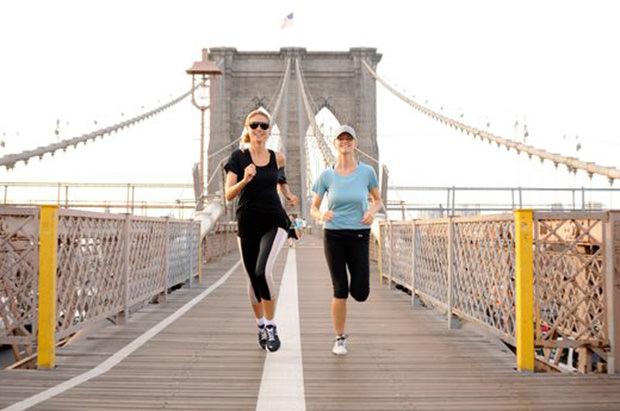 Celebrity Runner Heidi Klum