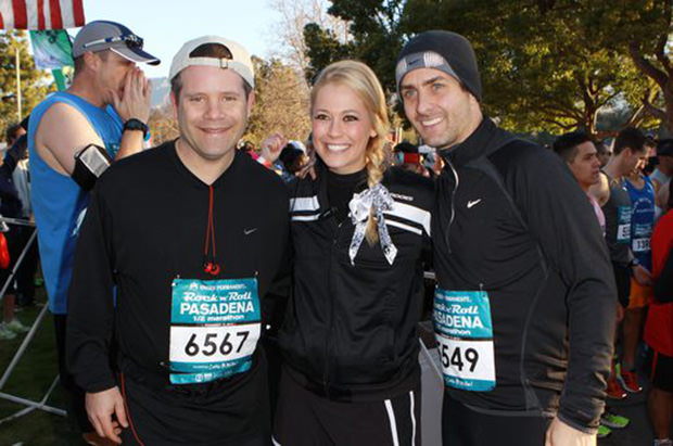 Celebrity Runner Sean Astin