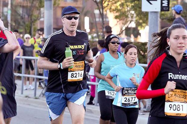 Celebrity Runner Will Ferrell