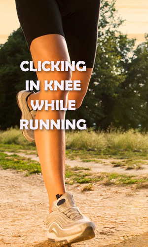 If your knee clicks as you run, you may have one of several conditions. These include iliotibial band syndrome, a meniscal injury or plica syndrome. Syndromes that lead to knee clicking often are often relatively easy to treat. Read on to learn more about what you should do if your knee clicks while running.