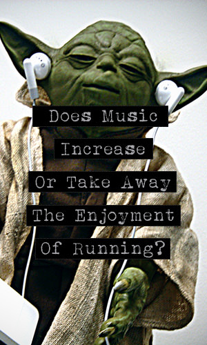 Many runners get worked up over this question; whether music enhances a run or takes away from it. This is what some runners have to say about it.