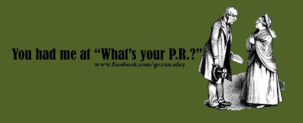 Funnies You'll Enjoy It You're A Runner #1: You had me at