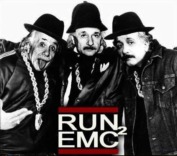 Funnies You'll Enjoy It You're A Runner #7: Run EMC-Squared