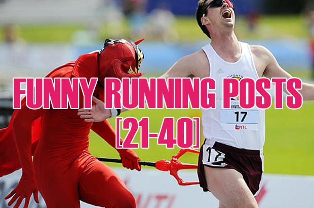 Funny Running Posts 21-40