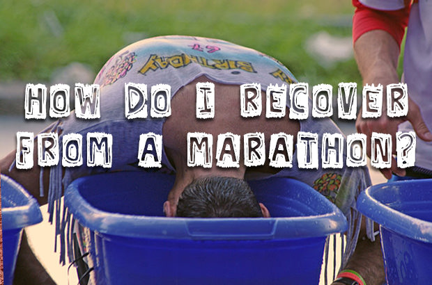 How Do I Recover from a Marathon