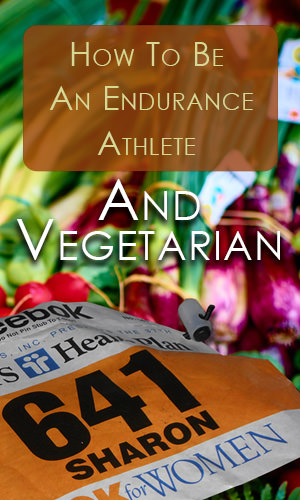 There are many successful professional runners who are vegetarian; Bart Yasso, Scott Jurek and Carl Lewis to name a few. But before taking the plunge into meatless running, here are a few things to keep in mind.