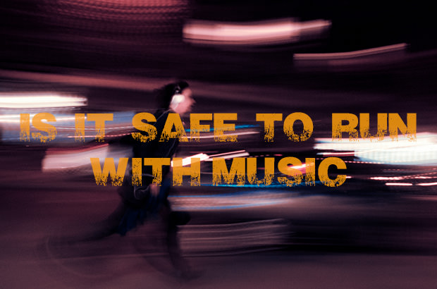 Is is safe to run with music