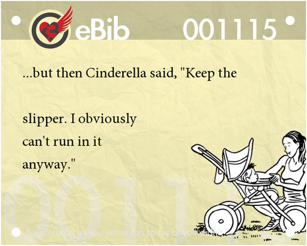 Jokes For Runners #3: But then Cinderella said,