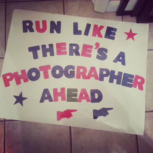 Spectator Placards That Will Get You Running Faster #3: Is that gel in your pocket or are you just happy to see me.
