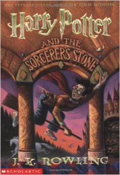 Harry Potter and the Sorcerer's Stone :  - by J.K. Rowling
