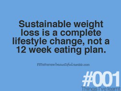 sustainable weight loss per week