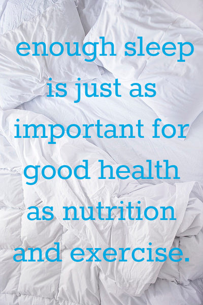 getting enough sleep good for your health 10 benefits of a good night's sleep keep your figure watching your weight can be as simple as getting a good night's sleep the photos were shown to 65 people who rated each photo based on health attractiveness and tiredness.