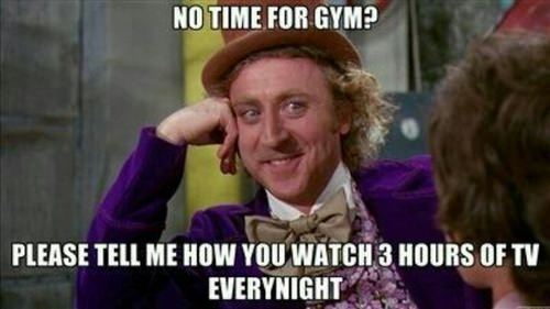 just a fitness meme