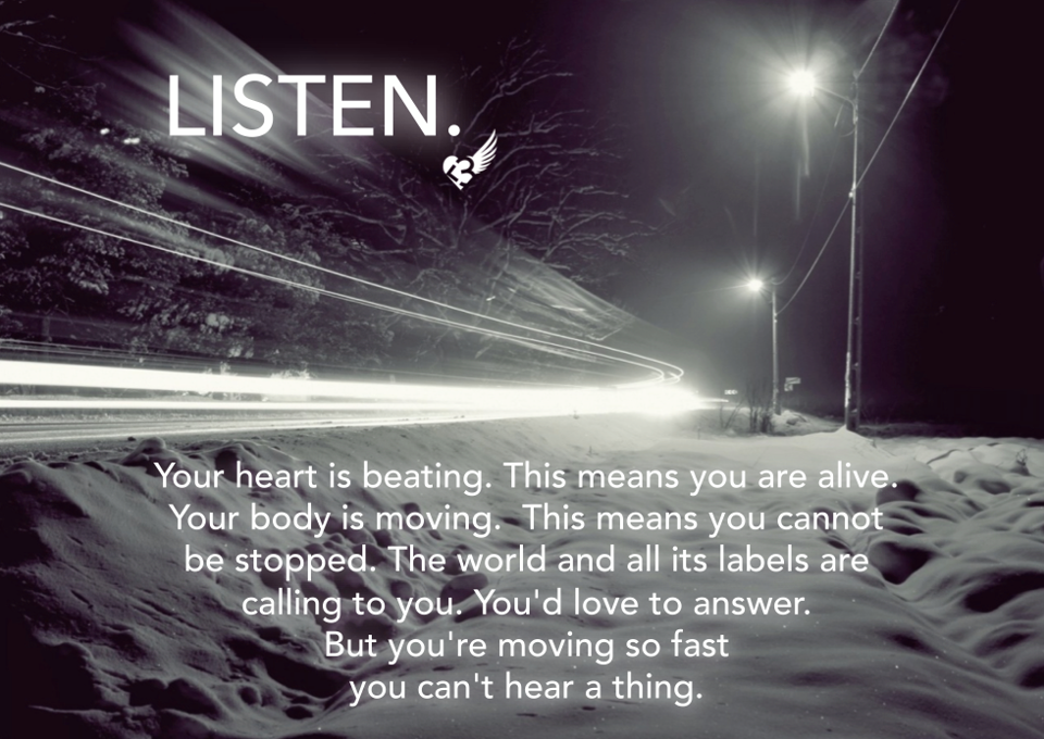Runner Things #1407: Listen. Your Heart Is Beating. This