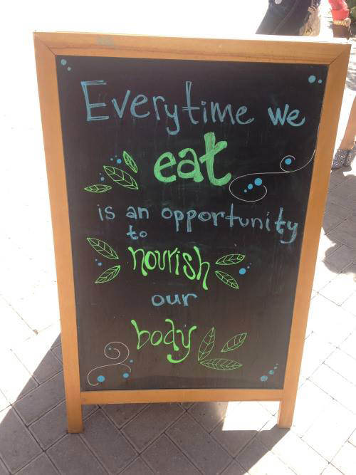 Nutrition Matters #39: Every time we eat is an opportunity to nourish our body.