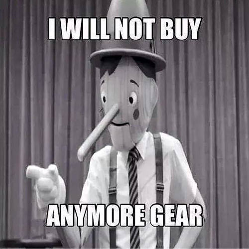 Running Humor #23 I will not buy anymore gear.