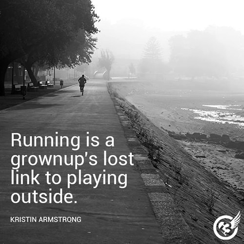 Running Matters #284: Running is a grownup's lost link to playing outside.