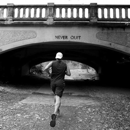 Running Matters #290: Never quit.